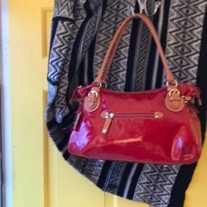Cavalcanti Red Patent leather handbag